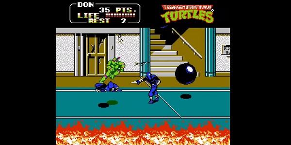 NES Teenage Mutant Ninja Turtles II