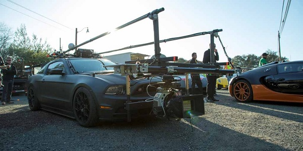 Need for speed filming