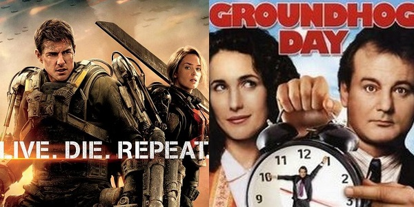 "5 Incredible Similarities Between ""Edge of Tomorrow"" and ""Groundhog Day"""